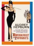 Audrey Hepburn Breakfast Tiffanys Metal Steel Sign